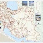 دانلود نقشه ایران با روزولیشن و کیفیت بالا