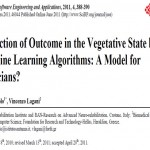 ترجمه مقاله Prediction of Outcome in the Vegetative State by Machine Learning Algorithms