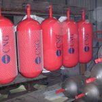پروژه مالی شرکت تولید مخازن CNG